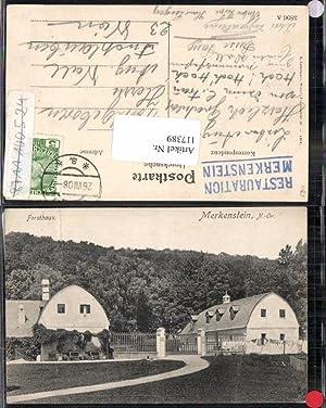 117389,Forsthaus in Merkenstein bei BADEN 1908