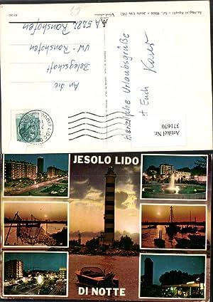 371670,Veneto Venezia Jesolo Lido di Notte Leuchtturm