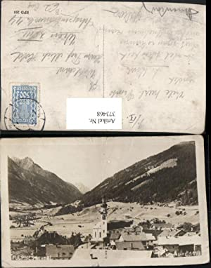373468,Fulpmes im Stubaital Teilansicht Bergkulisse