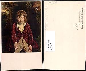 374420,Künstler Ak Sir Joshua Reynolds Knabenbildnis Kind