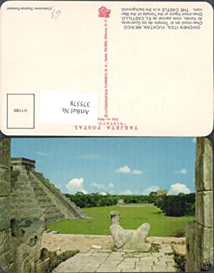 375378,Mexico Yucatan Chichen Itza Chac-mool en el