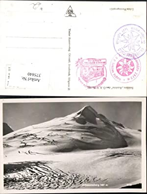 375840,Johannisberg b. Heiligenblut Bergkulisse