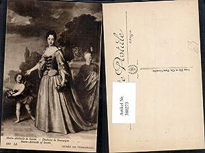 380273,Künstler Ak Marie-Adelaide de Savoie Duchesse de