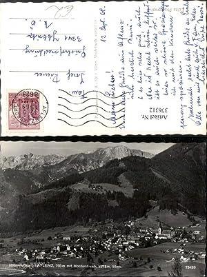 376312,Aflenz Totale m. Hochschwab Bergkulisse