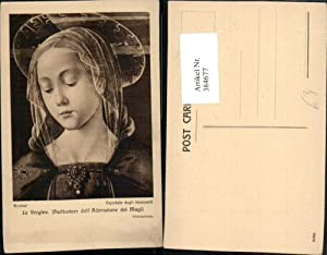 384677,Künstler AK Ghirlandaio La Vergine Particolare Adorazione