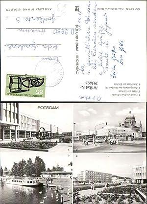 395895,Potsdam Anlegestelle Boot Friedrich-Ebert-Straße Mehrbildkarte pub VEB