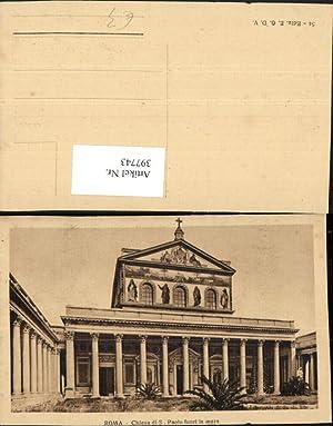 397743,Lazio Roma Rom Chiesa di S. Paolo