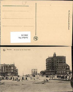 398138,Belgium Knocke Knokke-Heist Het Strand en het