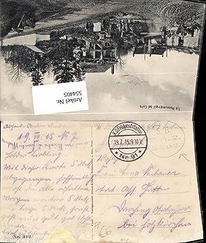 554405,Stempel K.D. Feldpoststation 91 S.B. B.A. M.E.D.