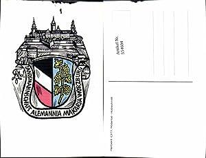 554604,Studentika Studentica Landsmannschaft Alemannia Makaria Würzburg