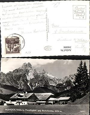 346806,Filzmoos Mandlinghof geg. Bischofsmütze Bergkulisse