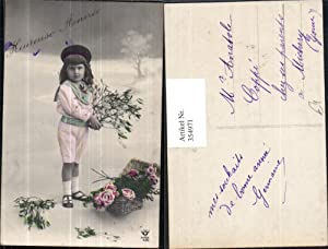 354971,Foto Ak Kinder in Uniform Mädchen Matrosenanzug