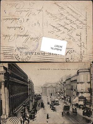 367857,Aquitanien Gironde Bordeaux Cours du Chapeau-Rouge Straßenansicht