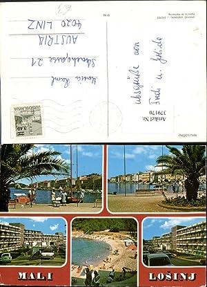 379170,Croatia Mali Losinj Lussinpiccolo Teilansicht Küste Promenade