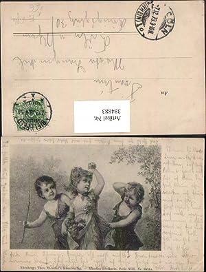384883,Theo Stroefer 5634a F. Lefler Kinder Mädchen