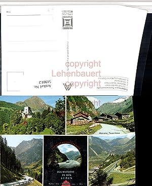 519012,Felbertauern-Panoramastraße b. Matrei Osttirol Mehrbildkarte