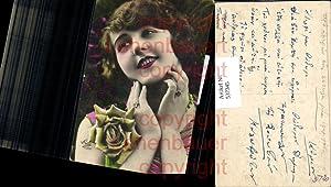 537345,Foto-AK Rose Frau Glamour Art Deco French