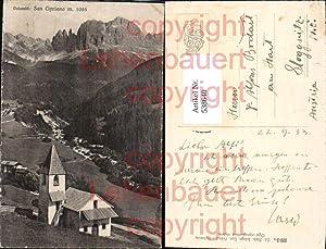 538640,Trentino Bolzano San Cipriano San Cyprian Gröden
