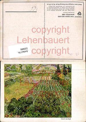 539086,Künstler AK Vincent van Gogh Mohn Mohnfeld