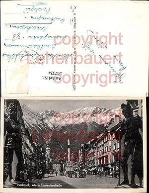 547334,Innsbruck Maria Theresienstrasse Ritterrüstung Rüstung Ritter