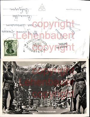 547335,Innsbruck Maria Theresienstrasse Ritterrüstung Rüstung Ritter