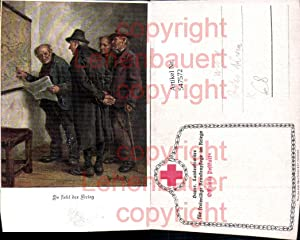 547572,K.K. Armee Rotes Kreuz Landkarte Krieg Männer