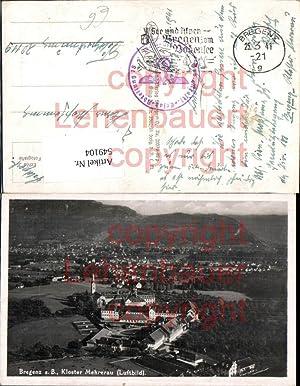 549104,Bregenz am Bodensee Fliegeraufnahme Mehrerau
