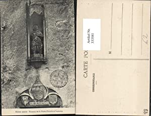 333581,Lothringen Vosges Domremy Maison natale Fronton de