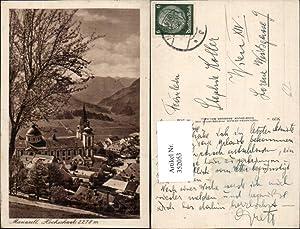 352053,Mariazell Teilansicht Kirche m. Hochschwab