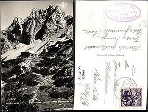 352086,Hochschwab Voisthalerhütte Berghütte b. Thörl m. Edelspitzen