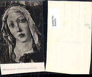 355975,Künstler Ak Botticelli Madonna col Figlio e