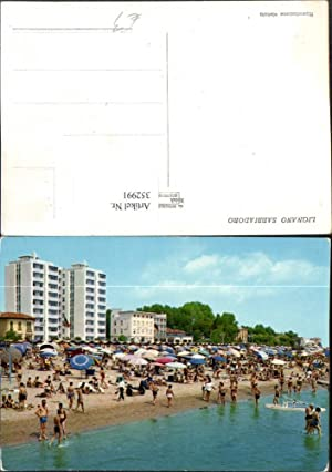 352991,Friuli-Venezia-Giulia Udine Lignano Sabbiadoro Strand Strandleben