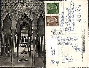 359395,Granada Alhambra Patio de los Leones Laberinto