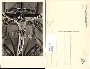 366336,Dingolfing Pfarrkirche Kirche St. Johann Baptist Kreuz