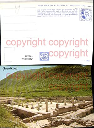 496323,Israel Gergesa Kursi Byzantine Church Ruine
