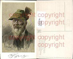 501009,Künstler Ak Richard B. Adam Prinzregent Luitpold