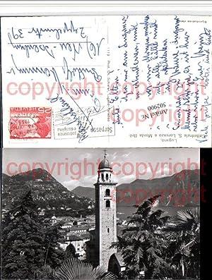 502900,Lugano Cattedrale S. Lorenzo e Monte Bre