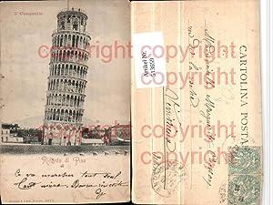 513659,Ricordo di Pisa Il Campanile Schiefer Turm