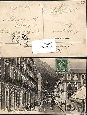 332385,Midi-Pyrenees Hautes-Pyrenees Cauterets Boulevard Latapie-Flurin Hotel d'Angleterre