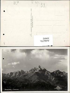 334852,Bischofsmütze vom Rossbrand b. Filzmoos Bergkulisse