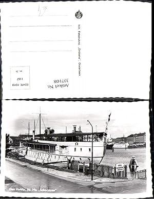 337108,Foto Ak Hochseeschiff Schiff Den Helder Hr.