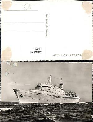 337947,Foto Ak Schiff Hochseeschiff Urlauberschiff TMS Fritz