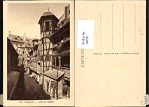 348591,Elsass Bas-Rhin Strasbourg Straßburg Cour du Corbeau