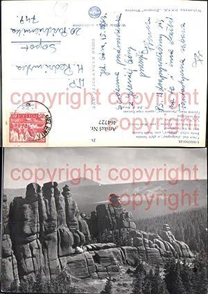 464727,Karkonosze Felsen Rocks Pilgrims Gesteinsformation