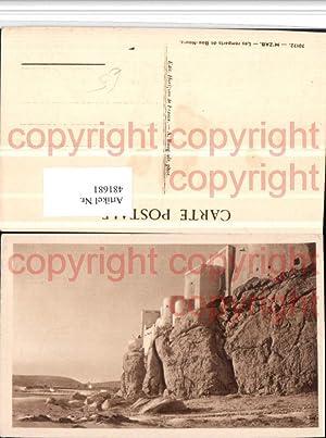 481681,Algeria M'Zab Les remparts de Bou-Noura Stadtmauer