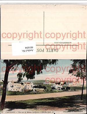 481694,Tunisia Karthago Carthage Vue Maison Lavigerie et