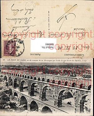 484995,Brücke Le Pont du Gard vu du