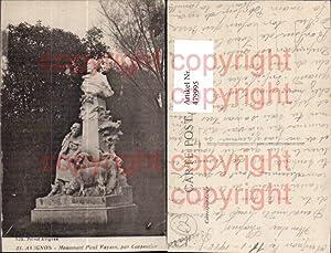 479995,Statue Avignon Monument Paul Vayson par Carpentier