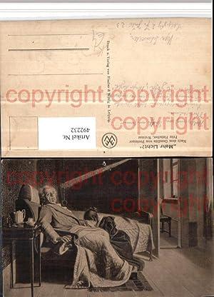 492232,Künstler AK Fritz Fleischer Mehr Licht Goethe