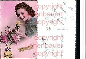 522943,Foto-AK Art Deco Frau Fotomontage pub P.C.